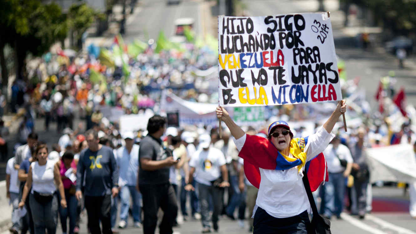 APTOPIX Venezuela May Day
